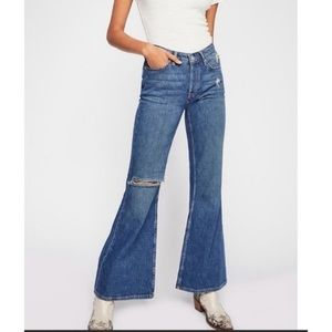 We the free heritage relaxed flare jeans